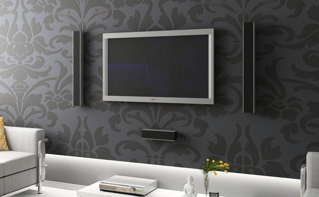 Wall Design For Led Tv : Dprime application development iphone developer